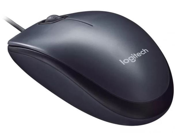 Mouse óptico usb preto M90 Logitech